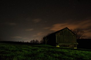 farm night sky